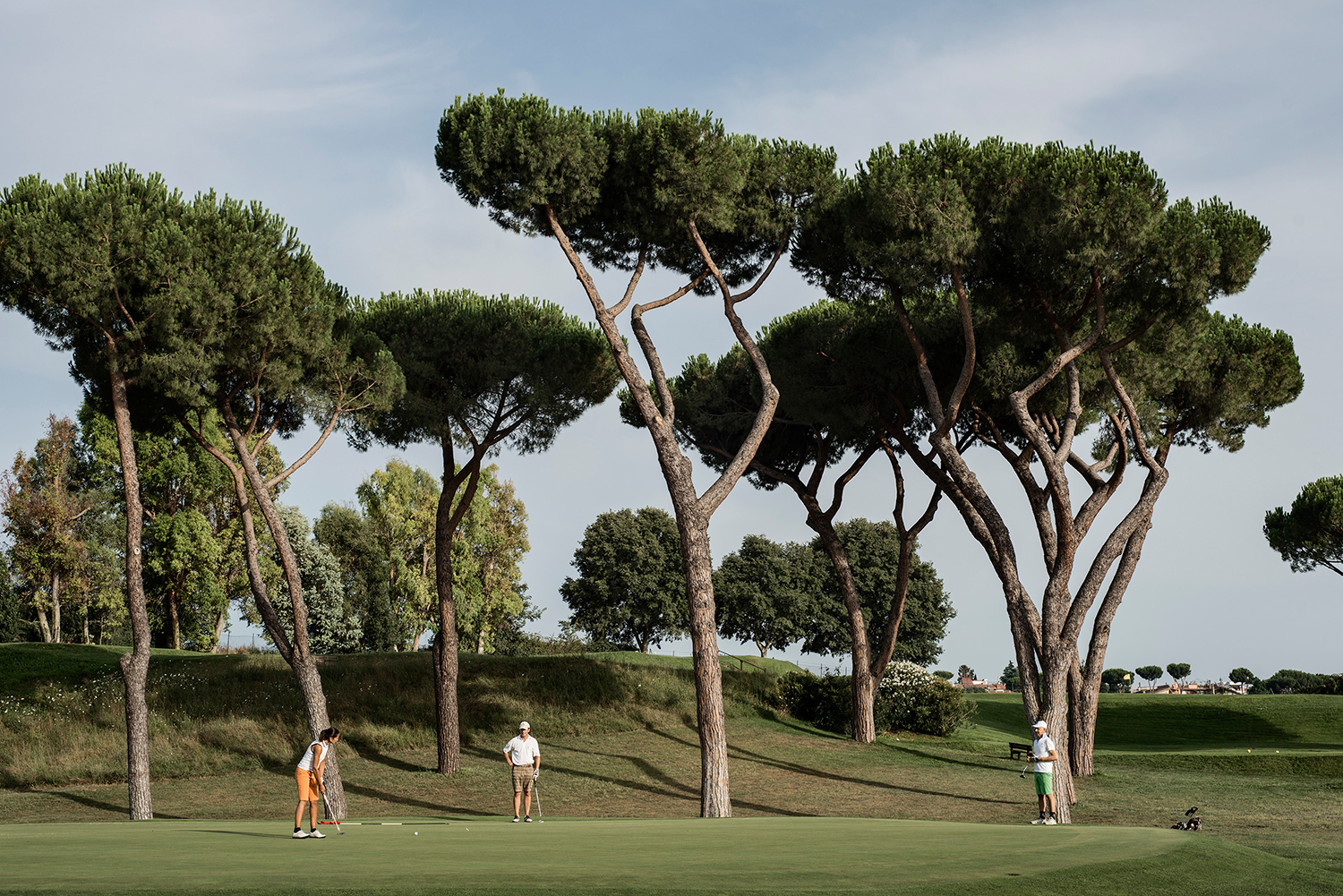 Acquasanta Golf Club, Rome, July 2014.