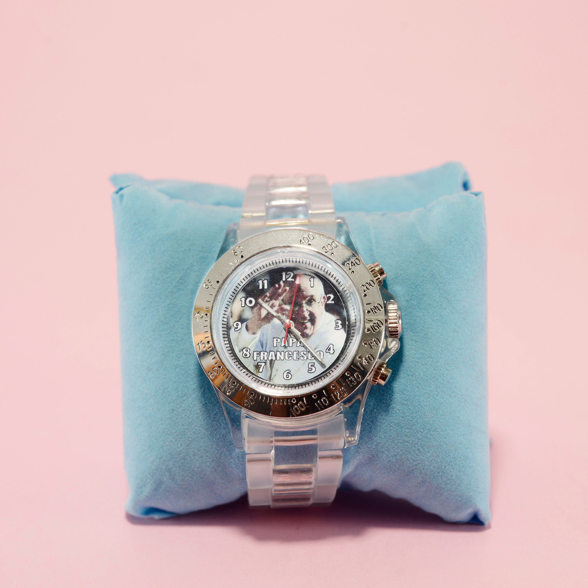 Pope Francis's watch.