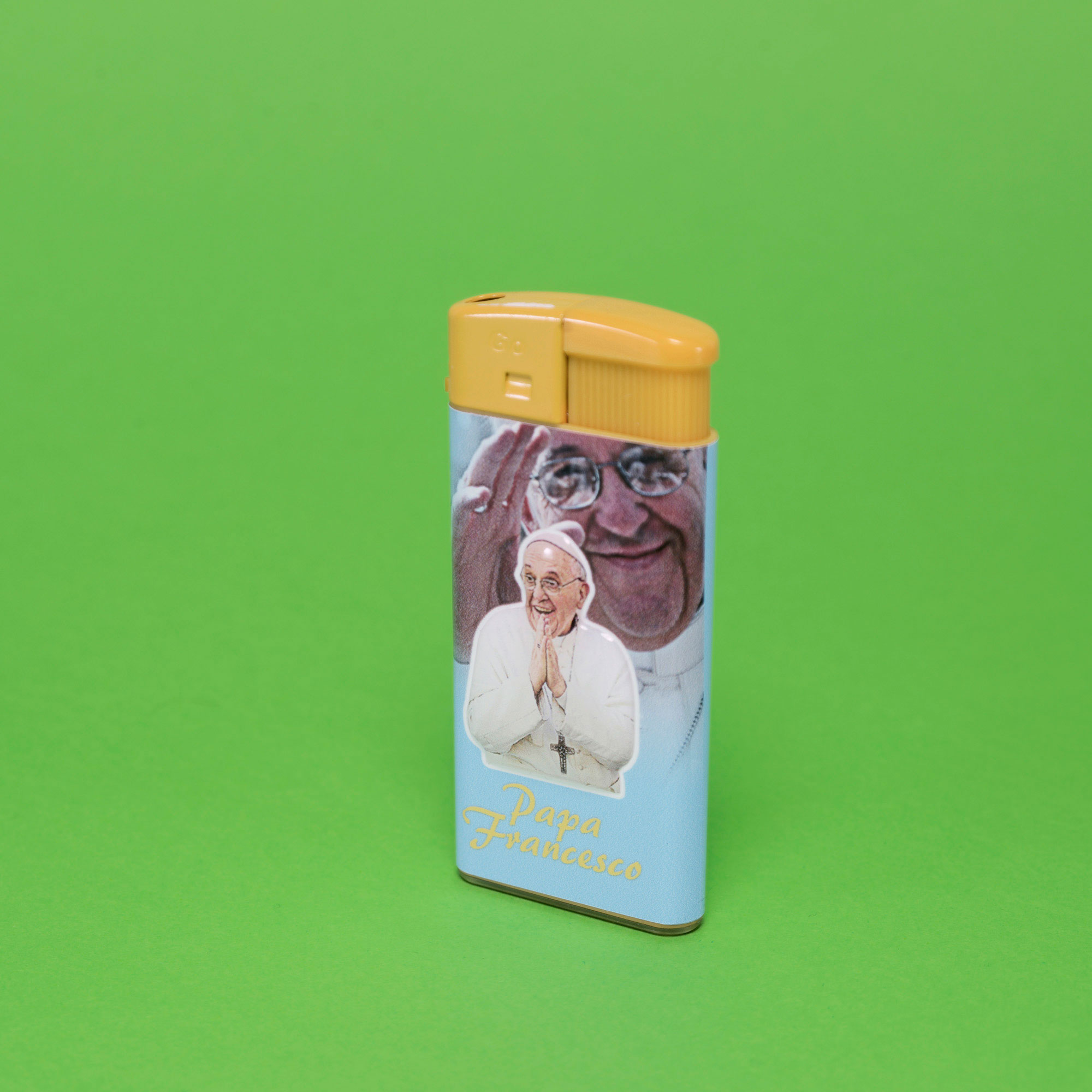 Pope Francis's lighter.