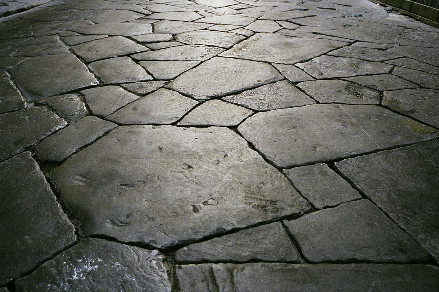 Pavement near Piazza San Lorenzo.